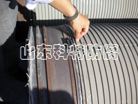 缠绕的预应力钢丝 山东科特防腐
